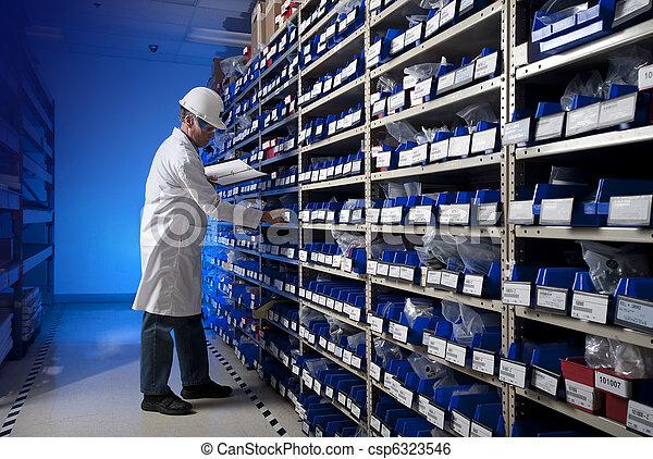 Taking inventory - csp6323546