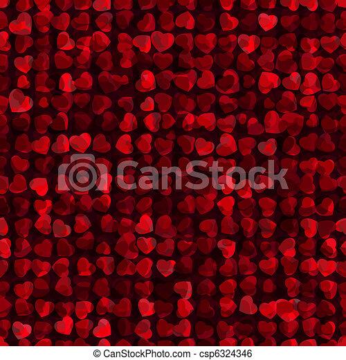 Valentine\'s day Seamless pattern. EPS 8 - csp6324346