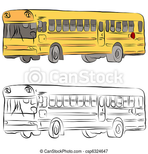 School Bus Images For Drawing School Bus Drawing Template