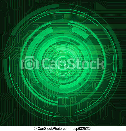 circle background - csp6325234