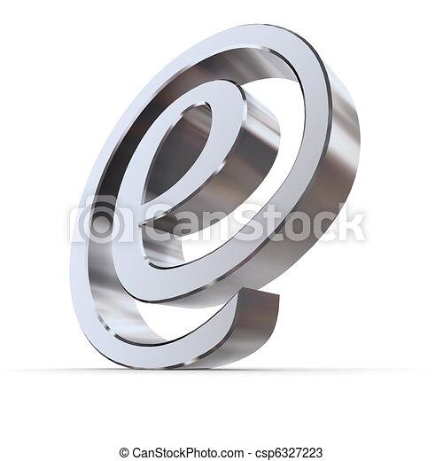 Shiny Curved e-AT Symbol - csp6327223