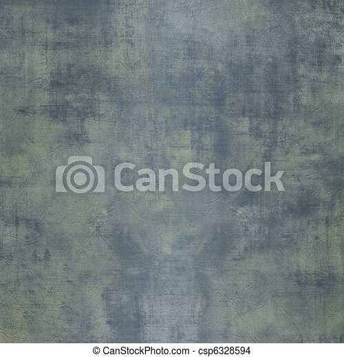 Grunge blue steel background with stains - csp6328594