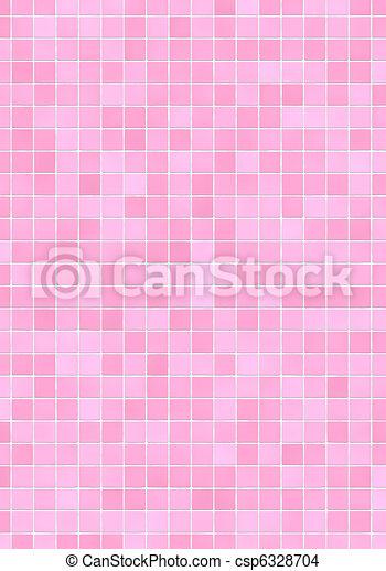 stock de ilustraciones rosa azulejos mosaico