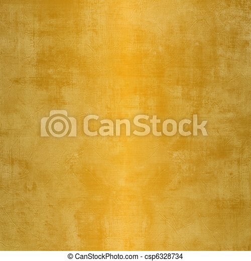 Grunge gold background with stains - csp6328734