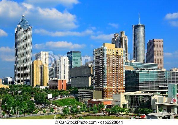 Downtown Atlanta, Georgia - csp6328844