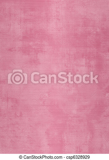 Grunge pink plaster wall with stains - csp6328929