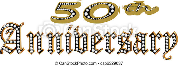 50 Anniversary - csp6329037
