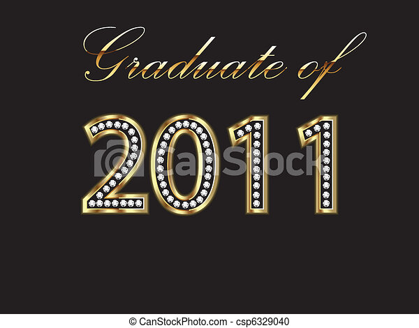 Graduate of 2011 - csp6329040