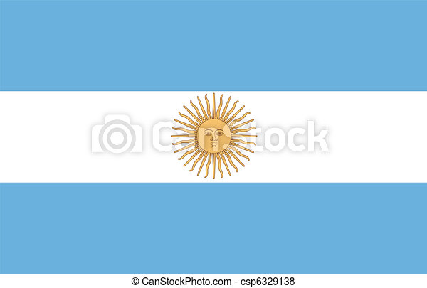 flag of Argentina - csp6329138