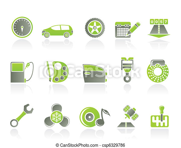 car parts, services, characteristic - csp6329786