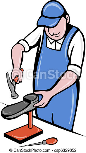 Shoe Repair Clipart