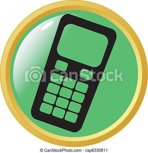 calling button - csp6330811