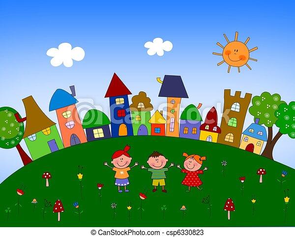 Little village - csp6330823