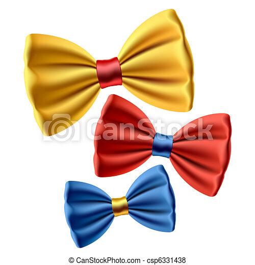 Set of bow ties - csp6331438