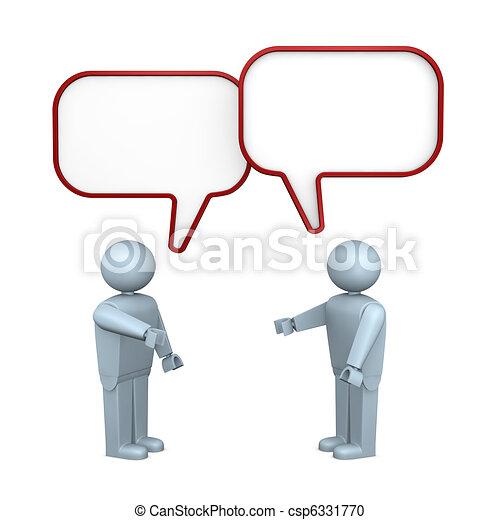 people talking - csp6331770