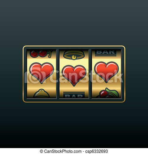 Love slot machine - csp6332693