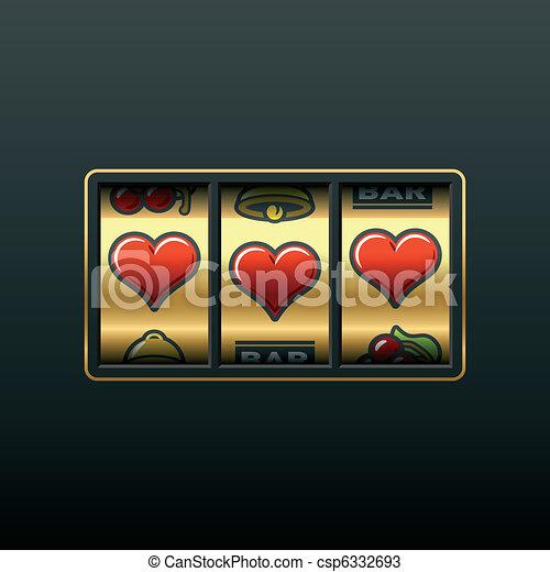 Love slot machine - csp6332693