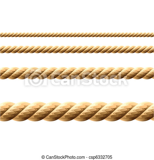 Seamless Rope - csp6332705
