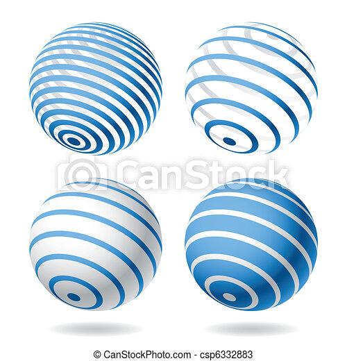 Globe design elements - csp6332883