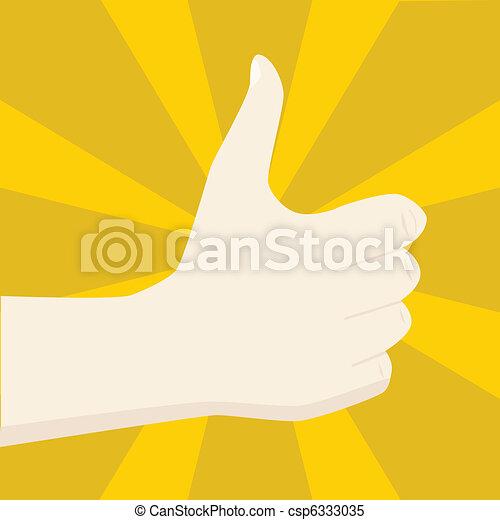 Positive sign - csp6333035