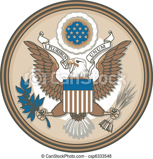 Great Seal of United States of Amer - csp6333548