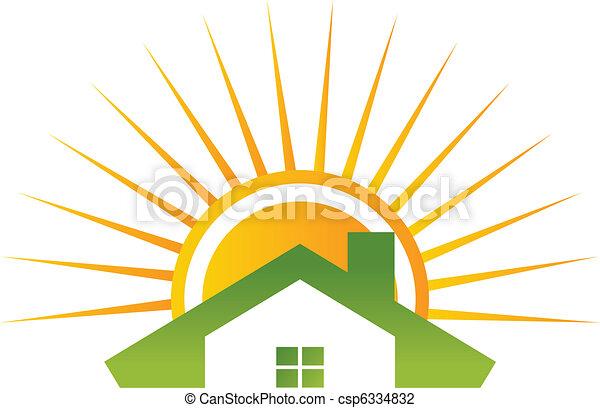 Roof sun - csp6334832