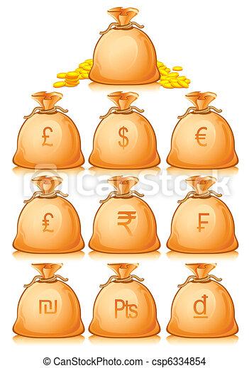 Money Bag - csp6334854