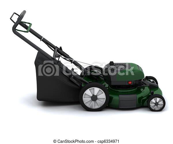 Lawn Mower - csp6334971