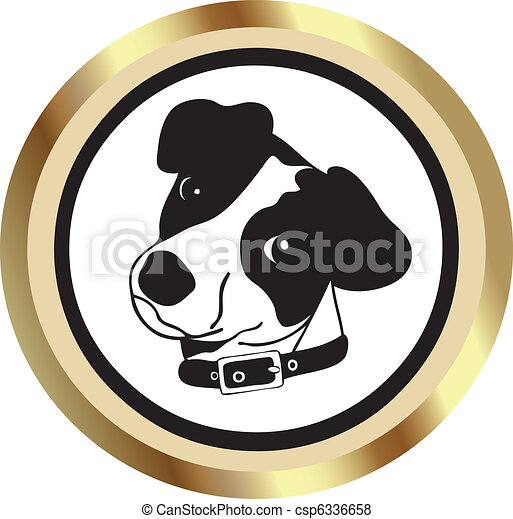 Dog Icon - csp6336658