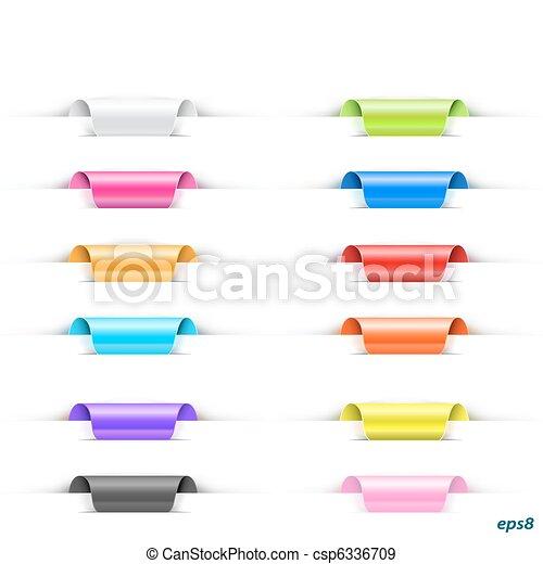 set of labels - csp6336709