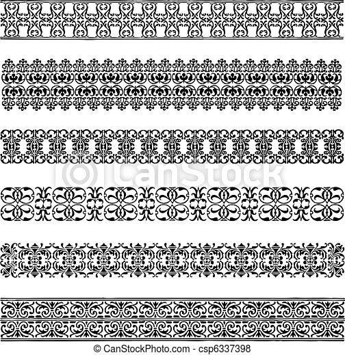 Vector Border Set - csp6337398