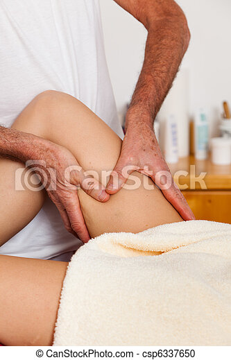 Rest and relaxation through massage - csp6337650