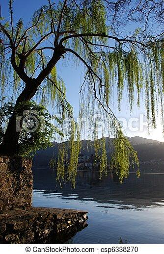 Beautiful lake - csp6338270
