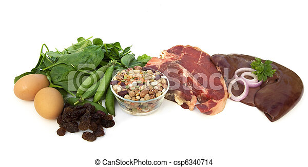 Food Sources of Iron - csp6340714