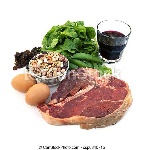 Iron-Rich Foods - csp6340715