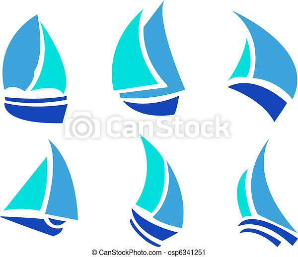 Set of Boats - csp6341251