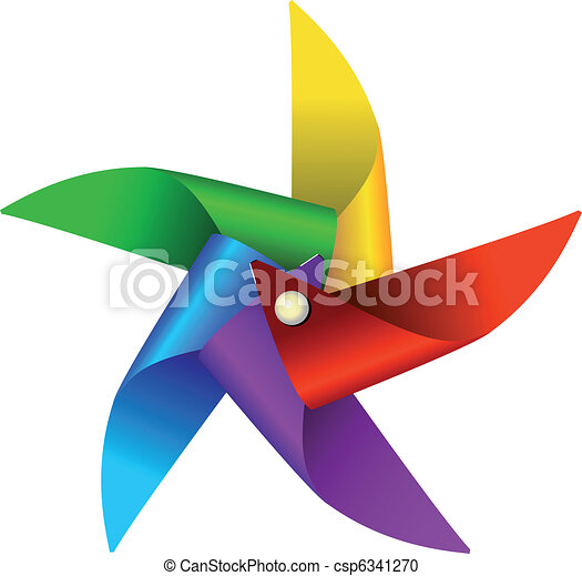 Colorful windmill toy - csp6341270