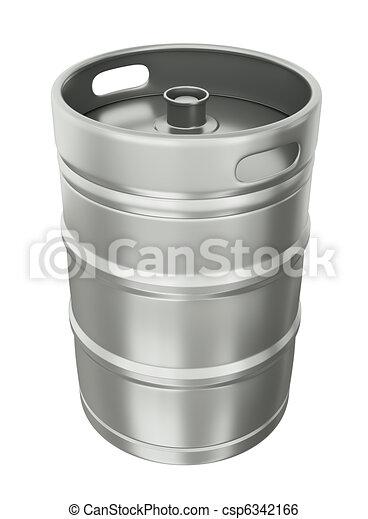 Beer keg - csp6342166