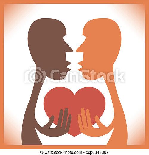 Human passion design. - csp6343307