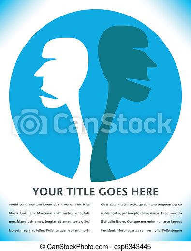 Human disagreement. - csp6343445