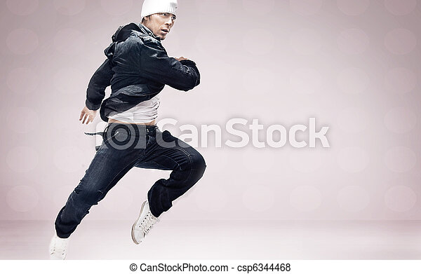 hip-hop dancer - csp6344468