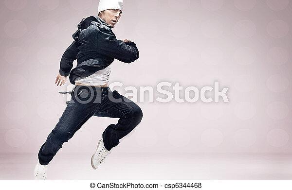 hip-hop dancer - csp6344468