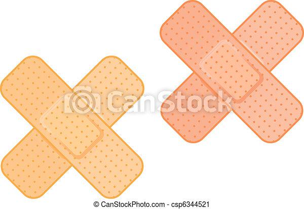 Medical plaster - csp6344521