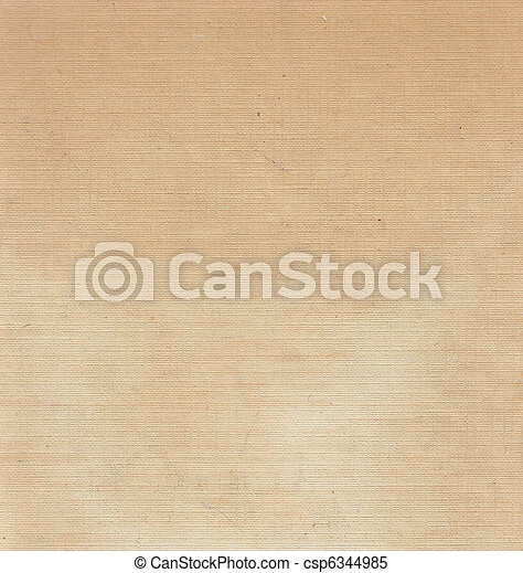 scan of an old aged worn white beige linen book cover - csp6344985