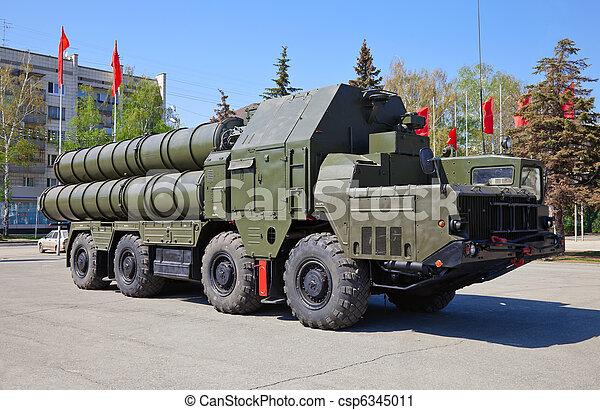 Stock foto russische flugabwehr komplex s 300 stock bilder