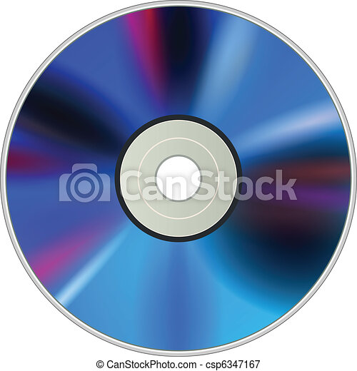 DVD CD disc - csp6347167
