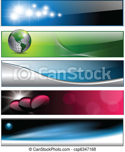 Banners, headers - csp6347168