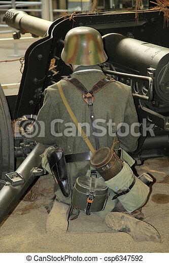 Second world war - csp6347592