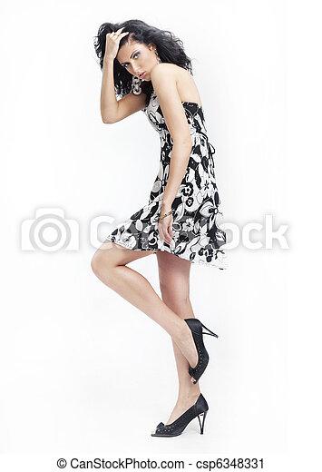 婦女, 時裝 - csp6348331