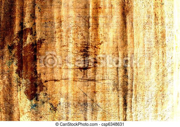 grunge papyrus - csp6348631